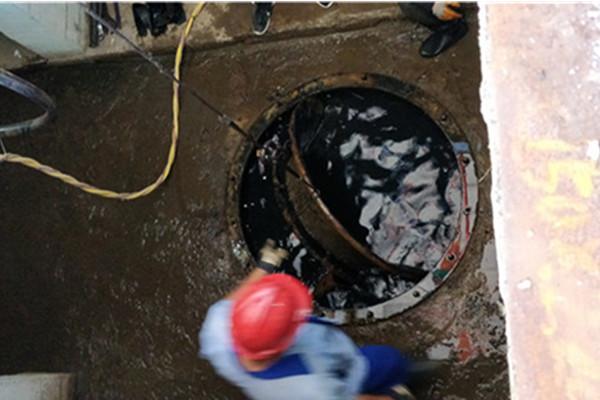 泵站打捞坏损叶轮