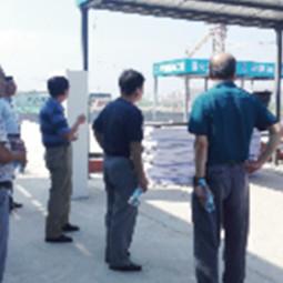 天津市津南区八里台示范小城镇三期安置区项目现场检查