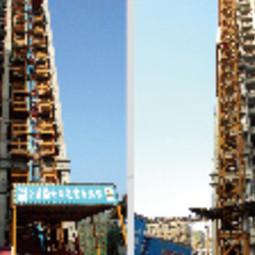 咨询部专家组与津南区质监站对津南区双港镇金地盈翠名轩工程进行