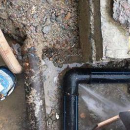 PE管道漏水检测