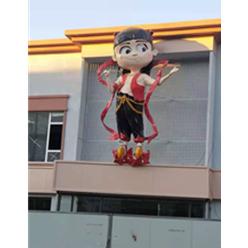 陳塘莊玻璃鋼哪吒雕塑安裝完畢