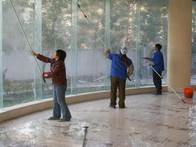 天津保潔公司教你清洗窗布的好方法